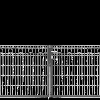 Drehflügel-Schmucktor Vario Residenz