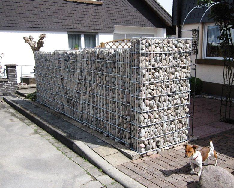 Gabione Olpe - geschweißt - 8/6/8 - gabione-steinkorb.de
