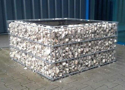 Gabionenhochbeet - Hochbeet aus Gabionen 600 mm hoch