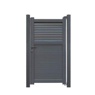 Alutor Tür aus Aluminium Kansas