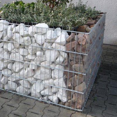 Hochbeet aus Gabionen Menden gross 800