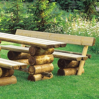 holzbank garten rothaargebirge 200 cm lang ohne r ckenlehne. Black Bedroom Furniture Sets. Home Design Ideas