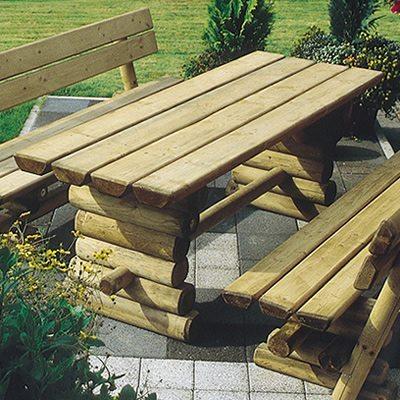 Holztisch rustikal Ruhrtal Tisch