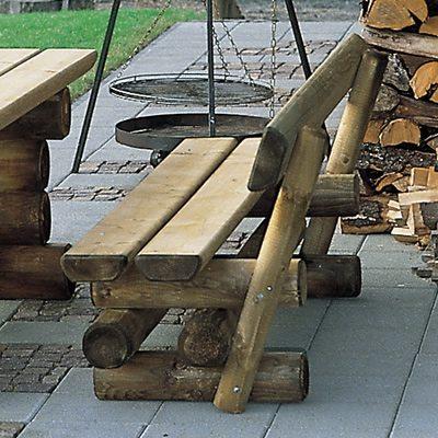 Holzbank Sauerland Bank aus Holz