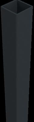 Alupfosten Groja Anthrazit Solid zum Aufdübeln 190 cm