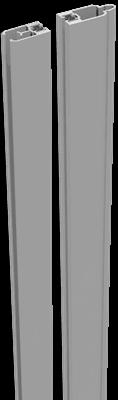 Adapterleisten Set Silbergrau