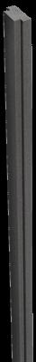 Abdeckleiste für Pfosten Steckzaun Groja