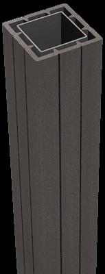Fertigzaun Pfosten Torpfosten Stahl Fertigzaunpfosten Solid anthrazit