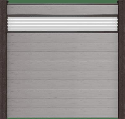 Zaun Stecksystem Groja Solid
