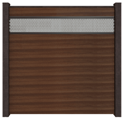 Steckzäune Groja Solid Sichtschutz mit Lochblech