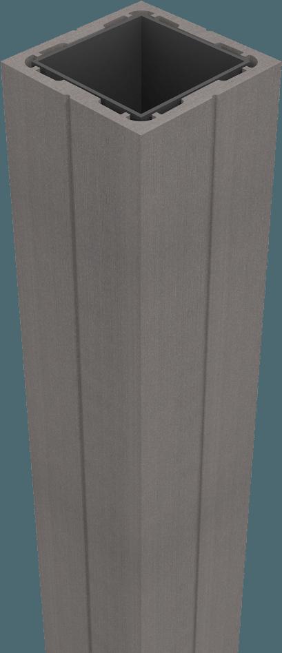 groja sombra pfosten zum einbetonieren 24 cm stone grey kaufen. Black Bedroom Furniture Sets. Home Design Ideas