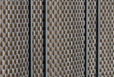 Sichtschutzstreifen Zaun Blickdicht bastline bronze