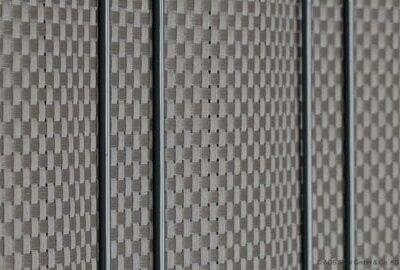 Sichtschutzstreifen Blickdicht bastline grau