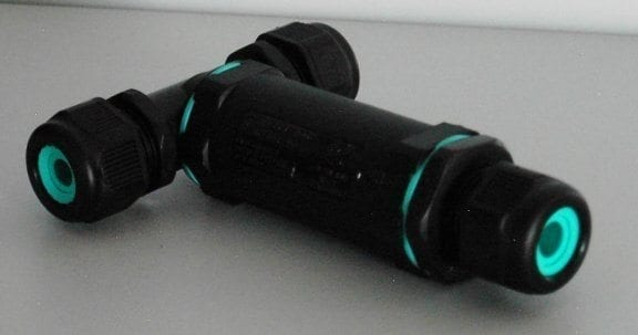 Kabelverbinder T-Stück Anschluss für Beleuchtung