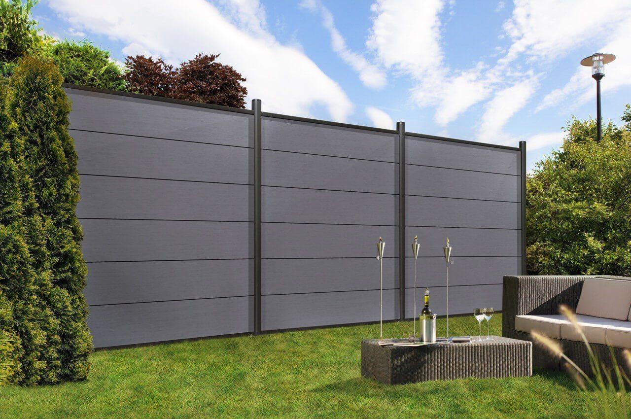 wpc sichtschutz stecksystem oc91 hitoiro. Black Bedroom Furniture Sets. Home Design Ideas