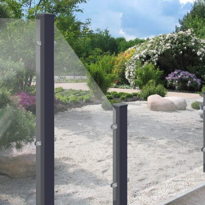 GroJa Ambiente Glas-Sichtschutz
