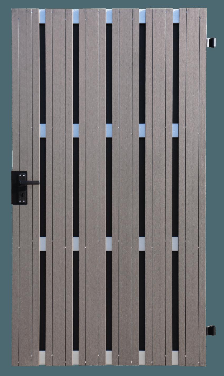 Fertigzauntor groja solid bpc din links 108 x 180 cm anthrazit