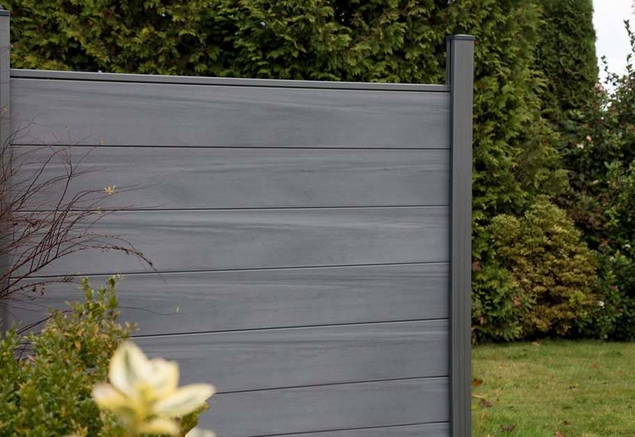 sichtschutzwand groja solid steckzaun bi color wei 180x170 kaufen. Black Bedroom Furniture Sets. Home Design Ideas