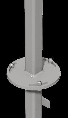 Adapter zum Einbetonieren für Groja Zäune