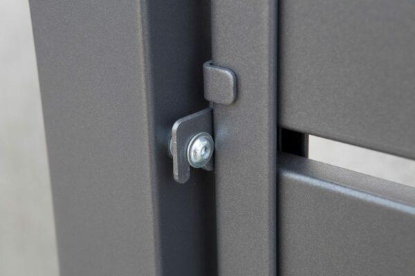 designzaun-boston-breite-lamellen-feuerverzinkt-db703-eisenglimmer
