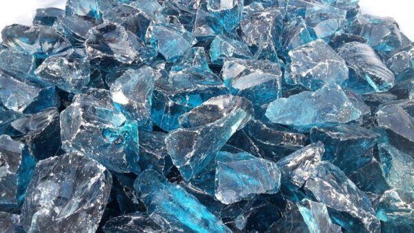 Glass Blocks SKY BLUE